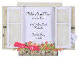 Window Box with Roses Invitation