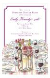 Wine & Dine Invitation