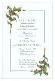 Winter Minstrel Invitation