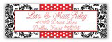 Winter Rose Address Label