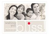Wishing You Bliss Photo Card