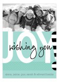 Wishing You Joy Photo Card