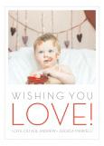 Wishing You Love Photo Card