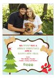Woof Christmas! Photo Card