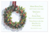 Wreath Invitation