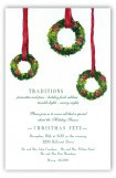 Wreath Trio Invitation