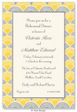 Yellow and Silver Odyssey Invitation