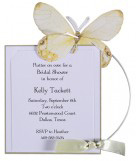 Yellow Butterfly Invitation