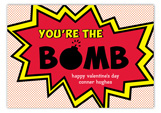Youre the Bomb Valentine Card