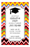 Zigzag Grad Invitation
