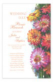 Zinnia Car Invitation