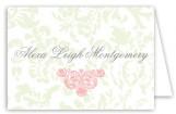 Zinnia Garden Pink Note Card