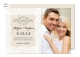 Linen Lace Wedding Suite Save the Date