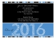Blue Graduation Year Invitation