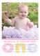 Adorable Dot Photo Invitation