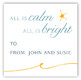 All is Bright Gift Tag