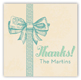 Baby Boy Bow Gift Tag