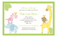Baby Jungle Green Invitation