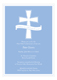 Blue Cross Banner Invitation