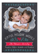 Chalkboard Holiday Wishes Photo Card