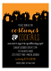 Costumes and Cocktails Invitation