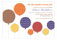 Fall Balloons Invitation