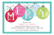 Holiday Merry Ornaments Invitation