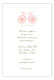 La Bicyclette Invitation