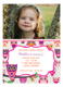 Look Whooos Having a Birthday Owl Photo Invitation