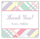 Pastel Plaid Gift Tag