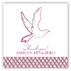 Pink Dove Gift Tag