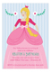 Princess Party Blonde Invitation