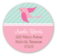Sweet Tweets Round Sticker