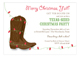 Yeehaw Holiday Invitation